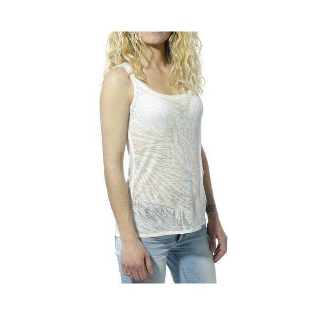 45a16a702 Singlet Femme Débardeur Blanc Multicouleur Xs