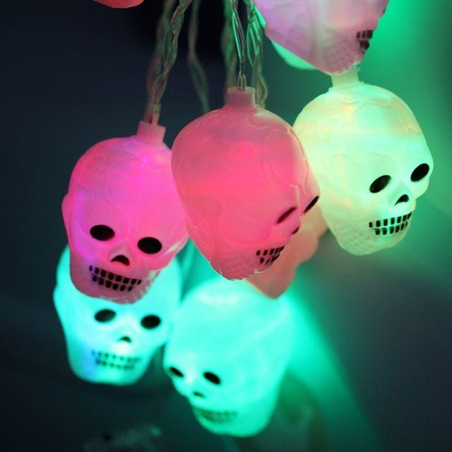 Led Fée Partie Halloween Piles M Props Design 5 2 Light20 Tête 3 X Série Aa String Décoration Boîte Nuit Mort Opéré De Lumière Coloré f67vIgmbyY