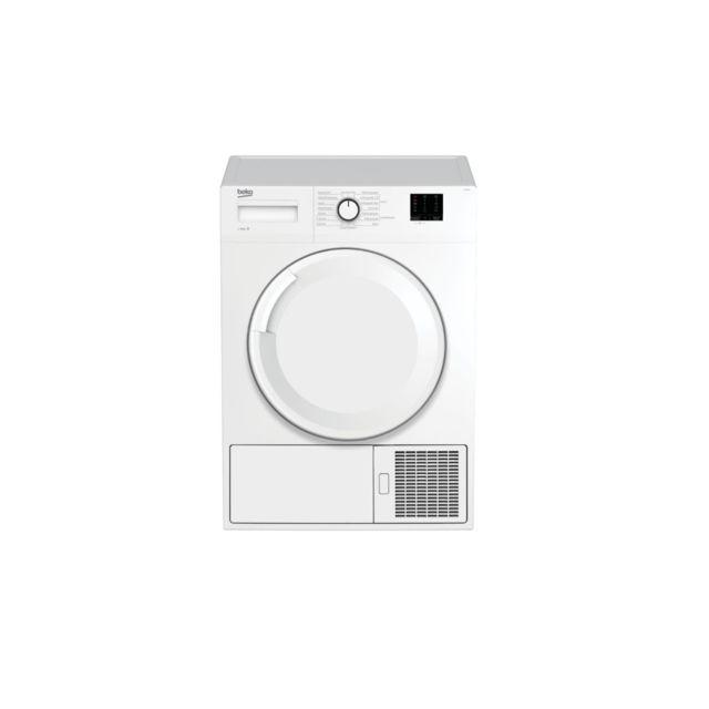 beko slc09w2 seche linge a condensation 9 kg classe b depart differe 3 6 9 heures blanc. Black Bedroom Furniture Sets. Home Design Ideas