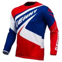 Kenny - Maillot Trial Up Bleu Blanc Rouge