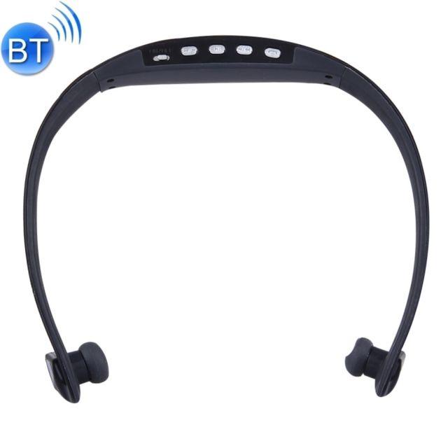 Wewoo Casque Bluetooth Sport Noir Pour Les Smartphone Et Ipad