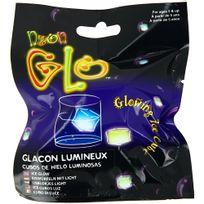 Promobo - Sachet Glaçon Lumineux Glow in the Dark Lumino Stick Bleu