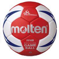 MOLTEN - Ballon de compétition Hx5001 Ffhb taille 2
