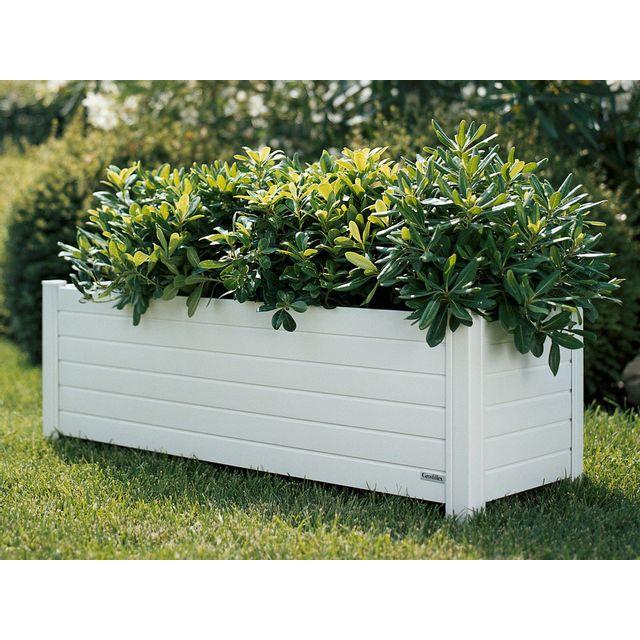 grosfillex jardini re rectangulaire en pvc 95x33cm 71 2l. Black Bedroom Furniture Sets. Home Design Ideas