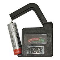 Inter Innov - Testeur de piles - Pile Lr03 Lr06 Lr14 Lr20 6LR61 Lr01 Bouton