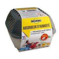 Bricorama - Absorbeur d'humidité médium + 1 recharge galet de 500 gr neutre 100382020