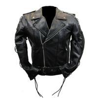 Blouson en cuir moto Perfecto Live to ride