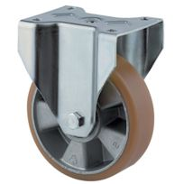 Tente - Roulette Manutention Forte Charge - Type:Fixe - Ø roue mm:125 - Haut. mm:164 - Charge kg:500