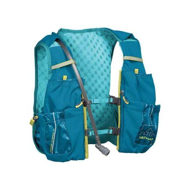 Nathan Gilet VaporAiress 2 - 7 L avec dépôt 2L, bleu femme