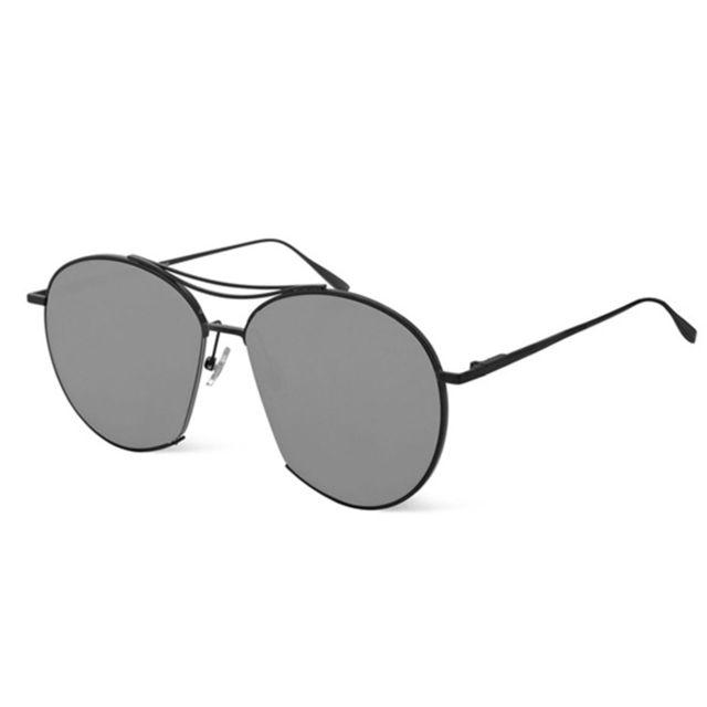 Wewoo - Lunettes de soleil noir pour hommes femmes en plein air Vintage  Oversize Uv400 lunettes 2b74cf525e07