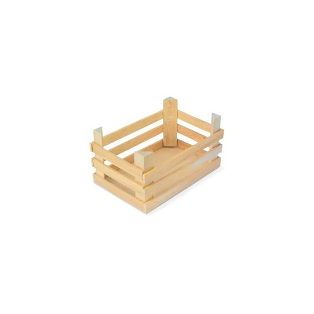 Small Foot Company Grande cagette, bois naturel