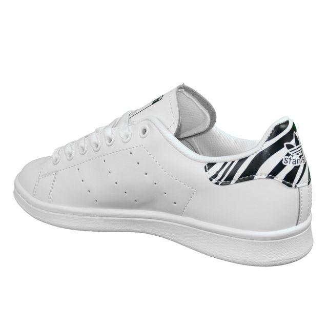 Adidas originals En Solde Baskets Stan Smith Zebra