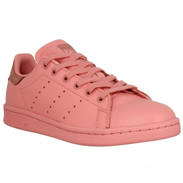 adidas femme stan smith scratch rose