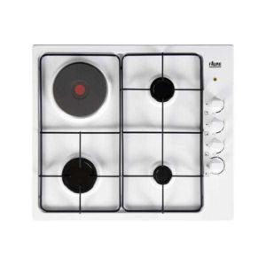 faure table mixte lectrique gaz fgm63444wa achat plaque de cuisson mixte. Black Bedroom Furniture Sets. Home Design Ideas