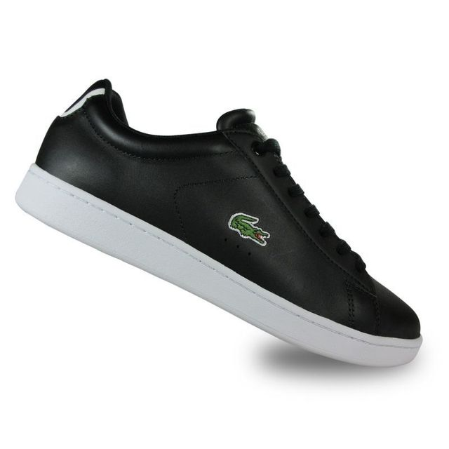 chaussures lacoste noir