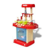 Rocambolesk - Superbe Cuisine-jouet pour enfants avec effets lumineux/sonores Neuf
