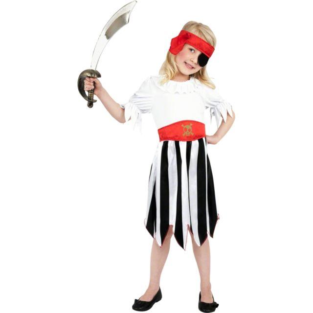 Déguisement pirate fille 4 6 ans - pas cher Achat   Vente Panoplies -  RueDuCommerce 819b957c964