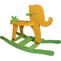 NO NAME - Elephant à bascule pour enfant Jungle
