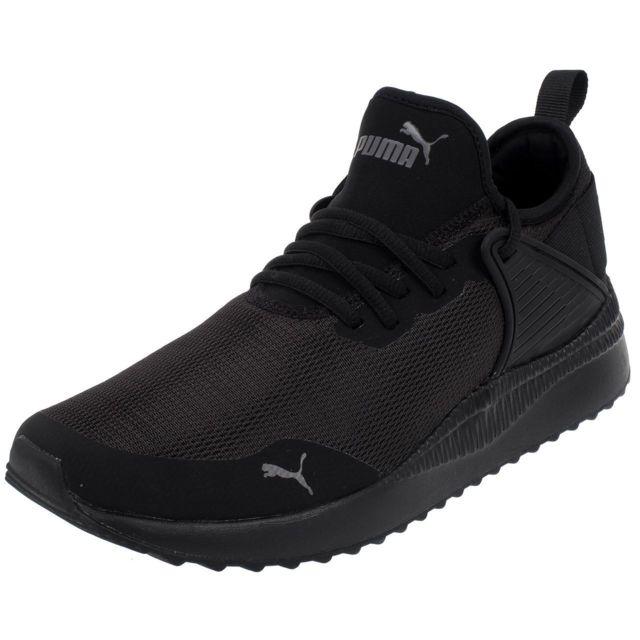 Puma Chaussures basses toile Pacer next cage black Noir