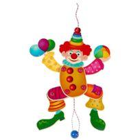 Hess - Clown ColorÉ Et ArticulÉ En Bois Pour Enfant