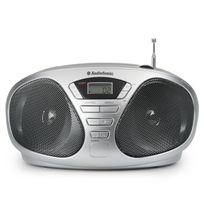 AUDIOSONIC - radio cd portable gris - cd1569