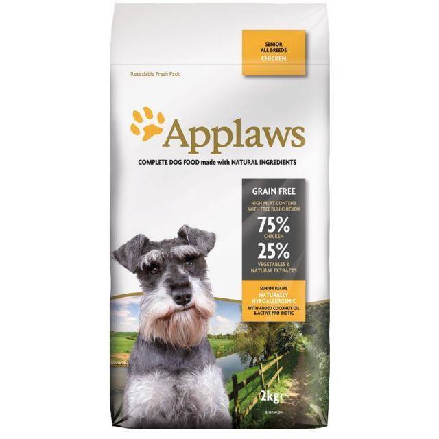Applaws Chien Senior All Breed Poulet
