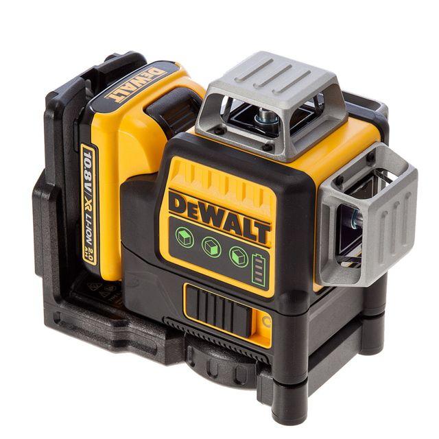 DeWALT DCE089NR-XJ Niveau automatique /à laser 360/° multi-lignes 10,8 V Rouge