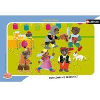 Nathan - Puzzle cadre 15 pièces : Petit Ours Brun - C'est la fête