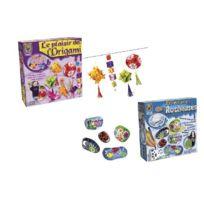 Créative Toys - CrÉATIVE Toys - Ct5286/5441 - Kit De Loisir CrÉATIF - Le Plaisir De L'ORIGAMI + Peintures Acc'ROCHEUSES