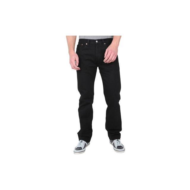 Levi'S - Levis - Jean - Homme - 501 - Noir Black Classic - Coupe Droite - Regular