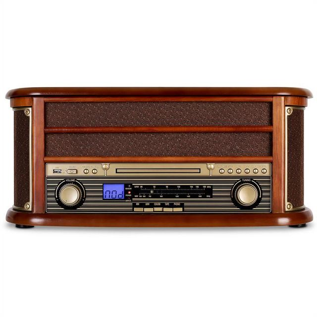 AUNA - RM1-Belle Epoque 1908 Retro Bluetooth CD MP3 USB