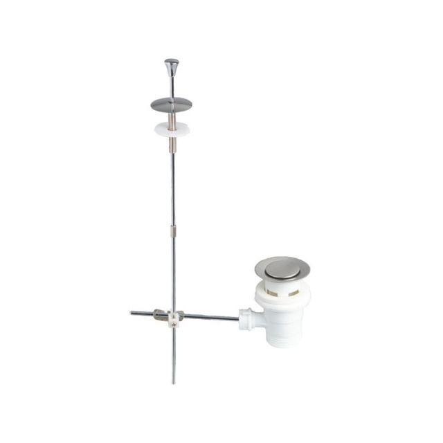Wirquin - Wirquin Bonde de lavabo a tirette - Plastique - Trop-plein et  clapet 00878acfb3ff