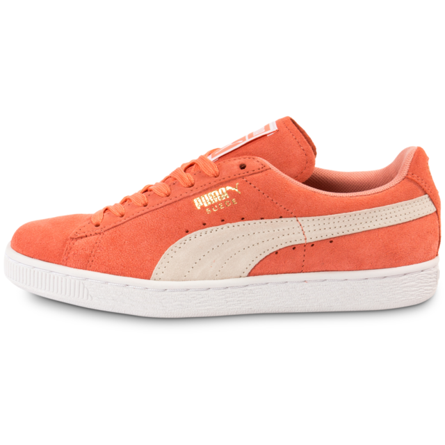 grossiste 7614c 3bf5f Puma - Suede Classic W Desert Flower - Tennis Femme Orange ...