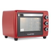 Klarstein - Omnichef 30 2G Mini-four Rôtissoire 1500 W 30 l - rouge