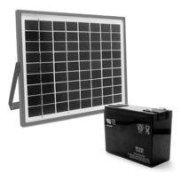 Kit d'alimentation solaire 654312 pour motorisation de portail