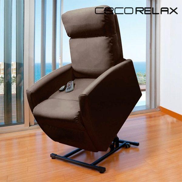Sans Marque Fauteuil De Relaxation Massant LÈVE-PERSONNE Cecorelax Compact 6008