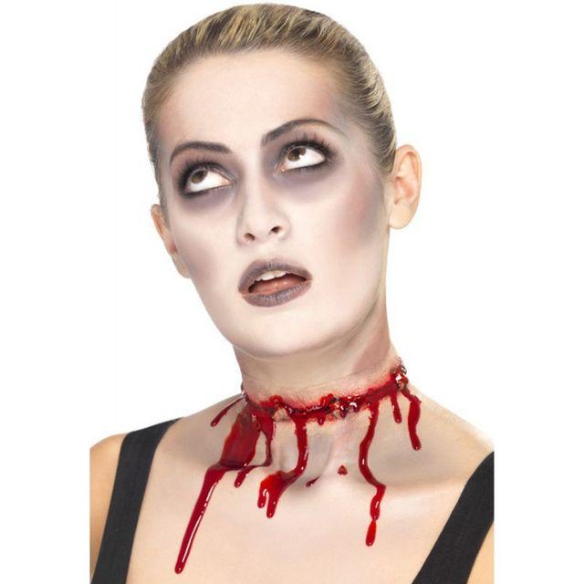 Maquillage latex - Maquillage latex halloween ...