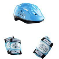 Moov Ngo - Set de 3 protections Junior Xs : Bleu