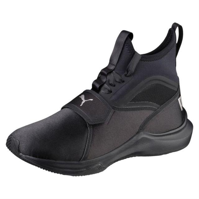 basket femme puma noir