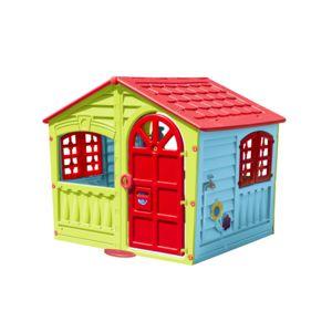 marque generique maisonnette pour enfant l 140 x l 111 x h 115 cm 780 pas cher achat. Black Bedroom Furniture Sets. Home Design Ideas