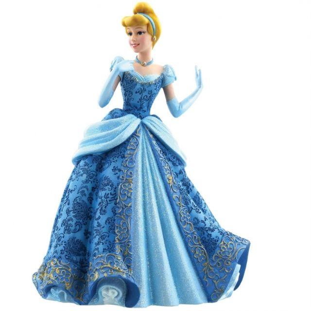 Cherriz Figurine Cendrillon En Robe De Bal Bleue Haute Couture Pas Cher Achat Vente Statues Rueducommerce