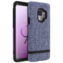Incipio - Carnaby Coque Galaxy S9 Coque Bumper Ultrafin Protection Antichocs Bleu