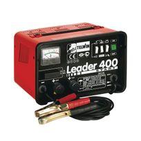Telwin - Chargeur de batterie monophasé avec fonction Start Leader 400