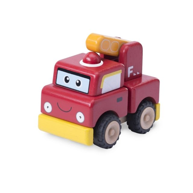 Wonderworld Camion de pompier à construire