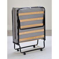 lit pliant bois achat lit pliant bois pas cher rue du commerce. Black Bedroom Furniture Sets. Home Design Ideas