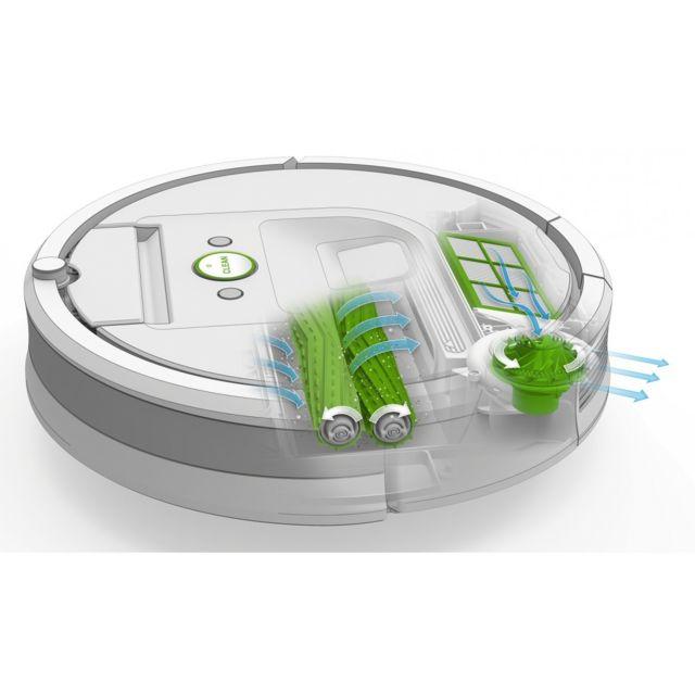 IROBOT Aspirateur robot Roomba 966 - R966040 - Noir