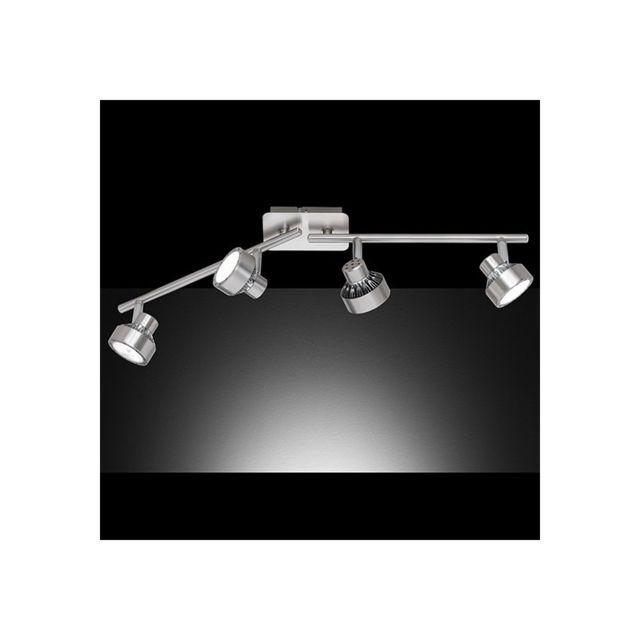 Millumine Réglette Spot Led Impulse 4 lampes Dimmable