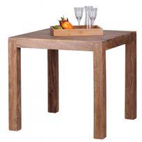 table carree bois massif - achat table carree bois massif pas cher