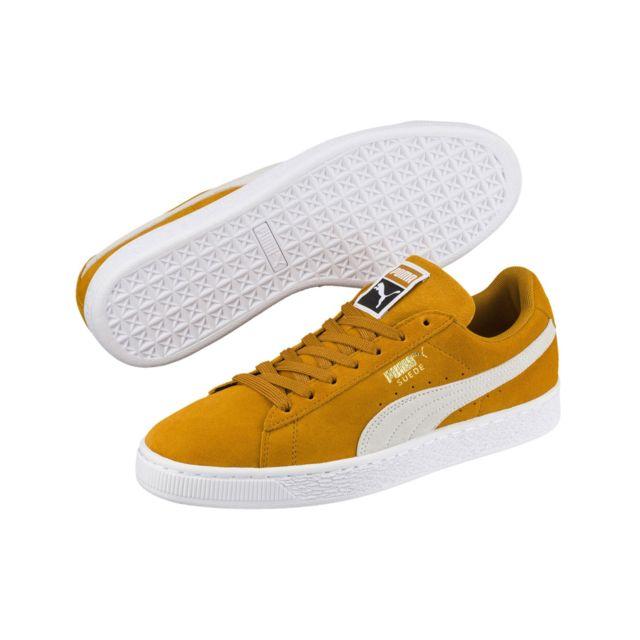 puma classic jaune