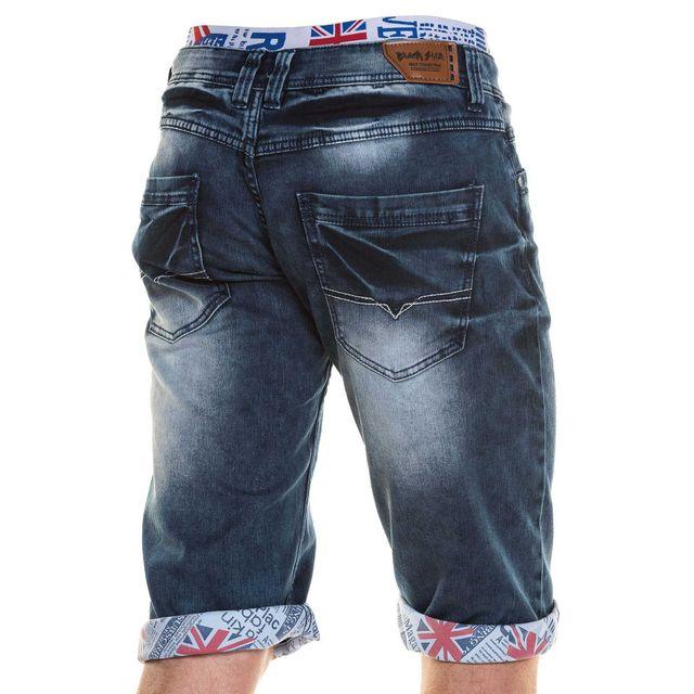 BLZ Jeans - Short bermuda jean homme avec